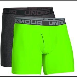2-Pack Under Armour Boxer Briefs Boxerjock UA Size